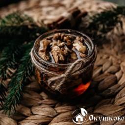 Натуральный мед с грецким орехом (150 г)